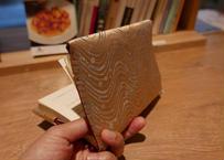 西陣織 ブックカバー 正絹 水玉&砂子箔紋様 一点もの