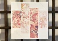 京都個展展示作品 / 紅葉と初雪