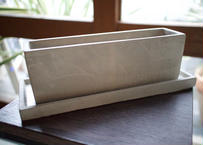 鉢カバー マルモレク 鉢皿付き