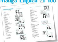 Manga English Textbook 91-100 英文テキスト(第91話~第100話)
