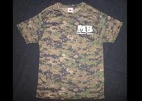 MB ドライTシャツ/ピクセルウッドランド