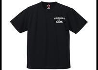 ドライTシャツ/ブラック(プリント:ホワイト)