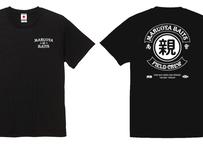 FIELD CREW ドライTシャツ/ブラックS~XL