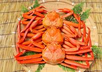 茹で紅ズワイガニ(約450g)×3枚セット