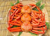 茹で紅ズワイガニ(冷凍・約400g)×3枚セット