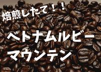 ベトナムルビーマウンテン 200gコーヒー豆焙煎したて!!