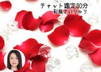 彩龍によるチャット恋鑑定30分