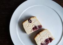 苺とクランベリーのチーズケーキset【4月下旬~5月中発送】