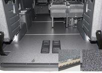 【ハイエースW-GL|3分割フロアーボード】 2型~6型|Pスライドドア有|標準カラー|アルミリアステップ|法人宛配送