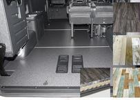 【ハイエースW-GL|3分割フロアーボード】 2型~6型|Pスライドドア有|OPカラー|アルミリアステップ|個人宅配送