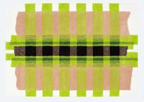 ラグマット tape(ピンク/140×200cm)