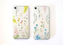 花たちのiPhoneクリアケース