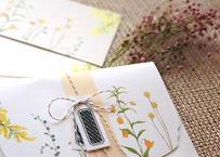 黄色い花たちのレターセット