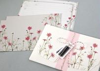 期間限定*秋桜のレターセット