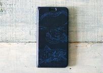 深海生物の手帳型iPhoneケース