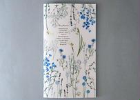 クールな花たちの色いろ彩ノート