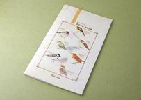 野鳥の図鑑風スリムノート