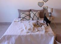 Pompom Blanket 【Lサイズ】190×290