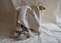 PomPom blanket 【Mサイズ】150×250