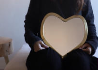 I love me Heart mirror Lサイズ 【GOLD】