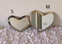 【silver】※第6期予約販売 〜10月末発送 I love meHeart mirror Sサイズ