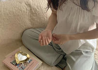 ※第6期予約販売 〜10月末発送 I love meHeart mirror いちばん小さめxsサイズ【GOLD】
