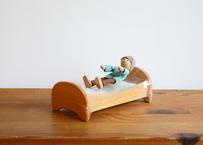 GRIMM'S ドールハウス用家具  ベッド