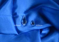 Crystal by Swarovski | クリスタル単品  しずく(H39mm)