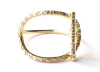 Mantel Full Diamond Ring