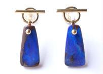 Boulder Opal Mantel Pierced Earring