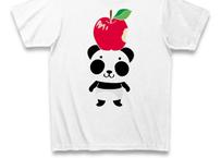 A*リンゴ食べたの誰?*Tシャツ_ホワイトCT01