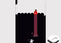 B*iPhone XSMax/8Plus/7Plus*fun fun fun*たこさんwinなーの雑踏*クッションバンパーケース