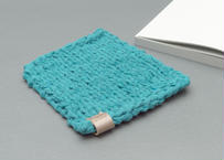COTTON DISH CLOTH -ライトブルー