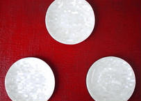 【SALE】白蝶真珠貝 菓子皿 95mm パールホワイト