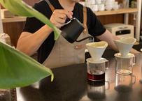 【ドリップコーヒーワークショップ】ハンドドリップコーヒーの淹れ方を学べるワークショップ