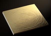純金箔 水色 断切 10枚