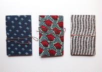 布張りノート|ブロックプリント|ガネーシャ|北インド・ラジャスタン州