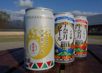 宇奈月ビール 缶ビール3種【12缶セット】350ml