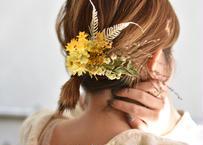 dry flower hair accessory(髪飾り)