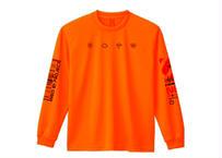 NEO81PROJECT    / weather    長袖Tシャツ/ Orange/ 【フォトブック付き】