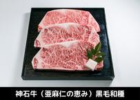 神石牛ロースステーキ 600g(200g×3枚)