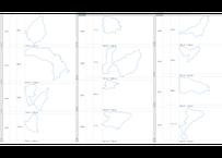 群馬県:H31年行政区域地図のオートシェープ図形