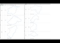 島根県:H31年行政区域地図のオートシェープ図形