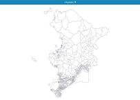 山口県下関市:PowerBI向けH27年度国政調査(町丁・字)TopoJSON