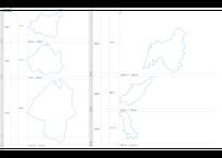 山形県:H31年行政区域地図のオートシェープ図形
