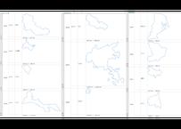 宮城県:H31年行政区域地図のオートシェープ図形