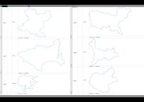 岩手県:H31年行政区域地図のオートシェープ図形