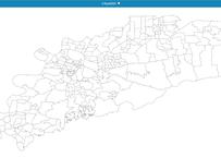 福岡県久留米市:PowerBI向けH27年度国政調査(町丁・字)TopoJSON