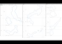 北海道XIII系:H31年行政区域地図のオートシェープ図形