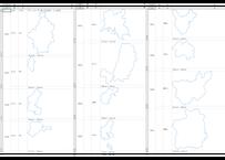 岡山県:H31年行政区域地図のオートシェープ図形